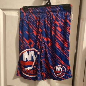 NWT New York Islanders Hockey Shorts